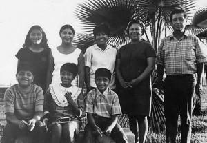 Chavez Family, 1964. (Courtesy of Fernando Chavez and Cesar Chavez Foundation)