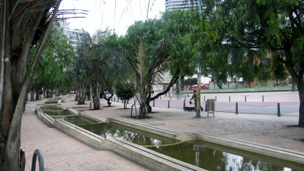 Environmental Axis, Jiménez de Quesada Avenue, Bogotá