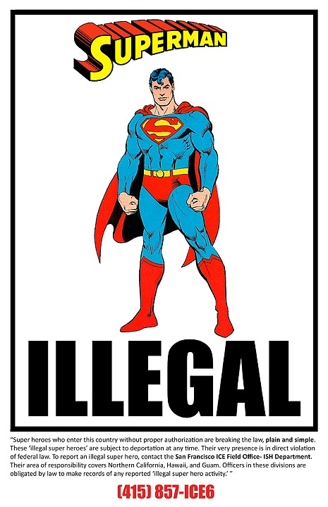 SupermanIllegal